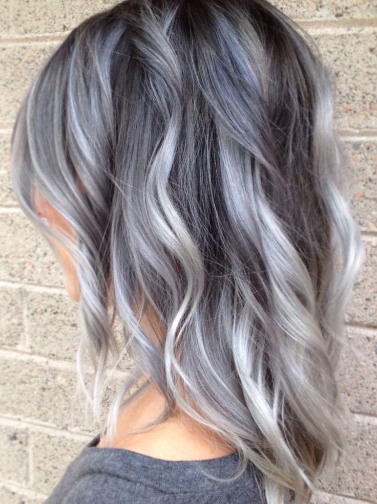 balayage-grijs-haar