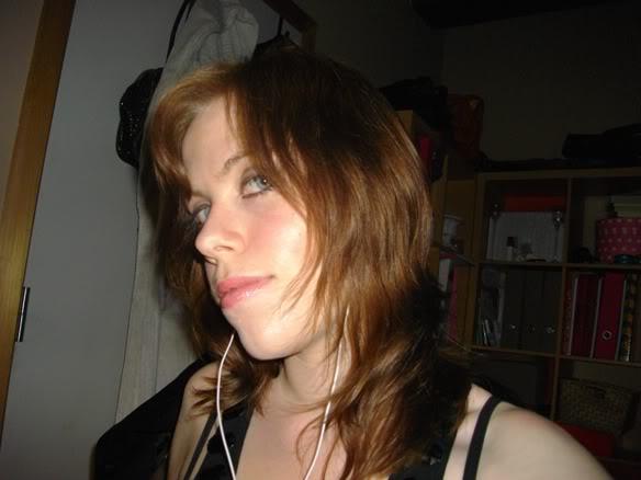 bruin geverfd haar