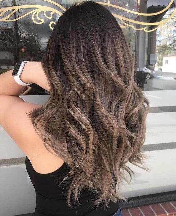 bruine-ombre-haarkleur