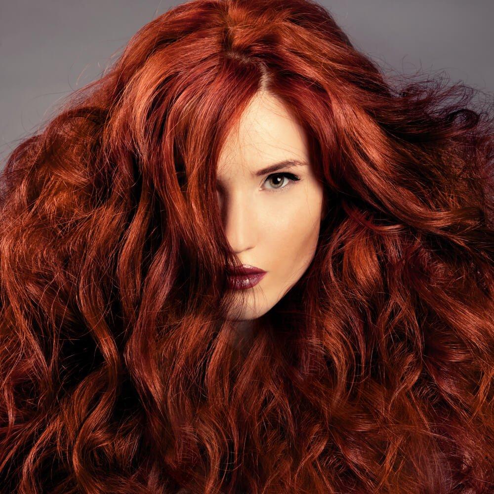 donkerrode-haarkleuren
