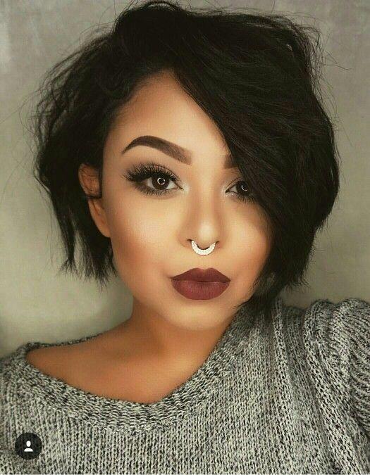 kort-kapsel-zwart-haar