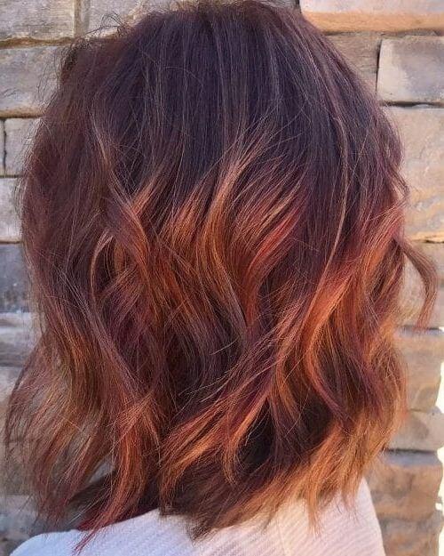 roodbruin-haar