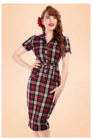 collectif-clothing-tartan-check-dress