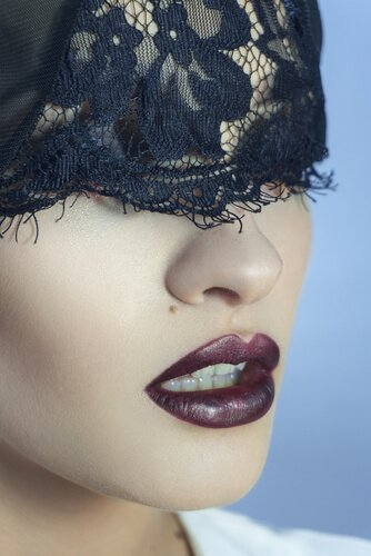 donkere-lippen
