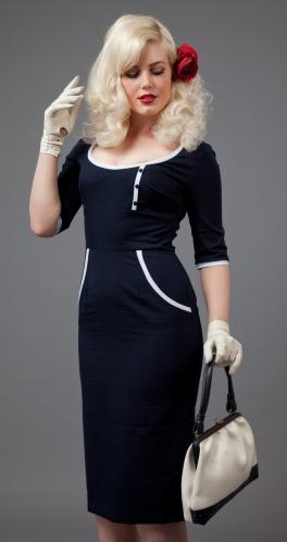 glamour-bunny-tw-tone-dita-von-teese-dress