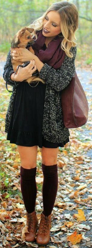 jurken-herfst-dragen
