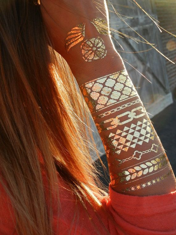 metallic-gouden-tattoos
