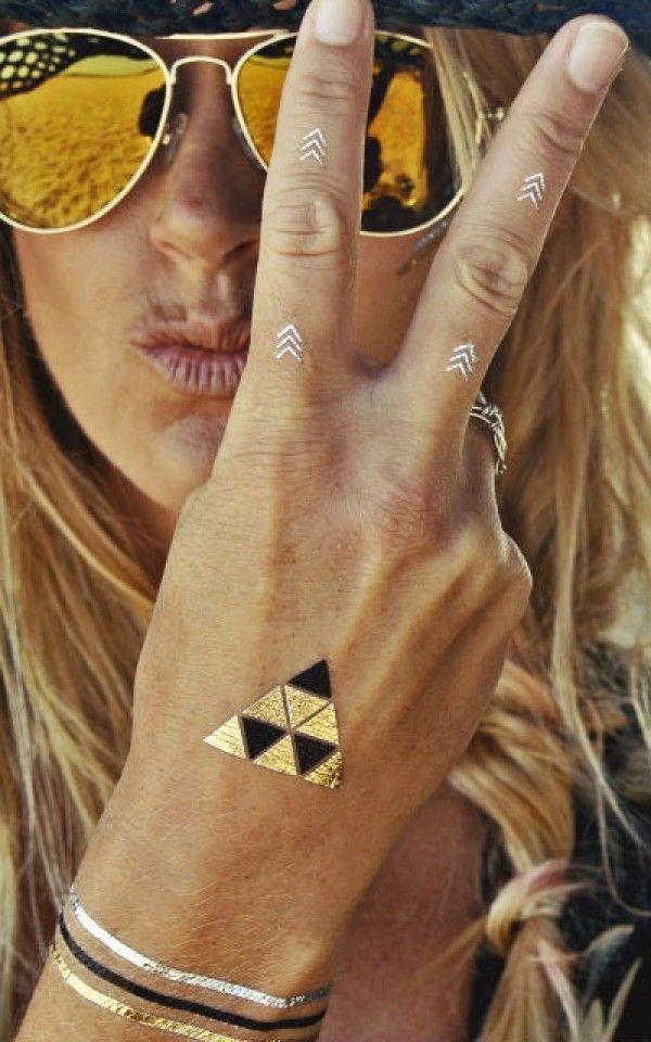 metallic-tattouages