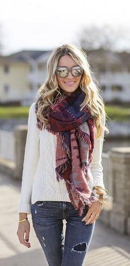 rode-grote-sjaal