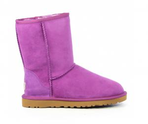 uggs- classic-short-woman-paars