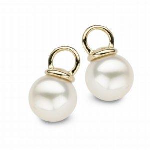 Diamond Point Pareloorsieraden zoetwaterparel Pearls