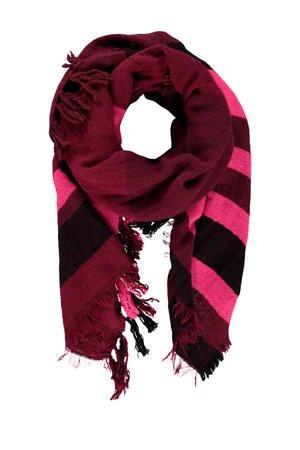 expresso-gestreepte-sjaal-rood-rood-8720019052952