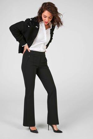 expresso-high-waist-flared-broek-zwart-zwart-8720019045985