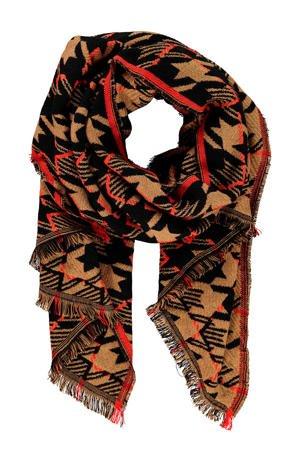 expresso-sjaal-lichtbruin-zwart-camel-8720019052853