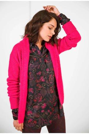 expresso-vest-met-ceintuur-roze-roze-8720019055410