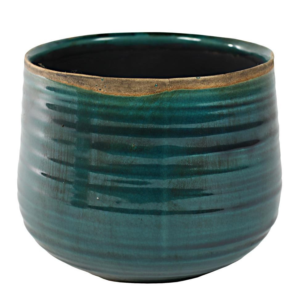 bloempot-turquoise