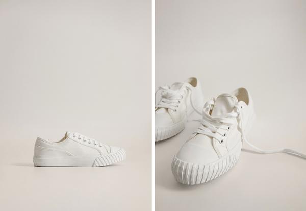 witte sneakers weer proper