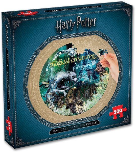 harry-potter-creatures-puzzel