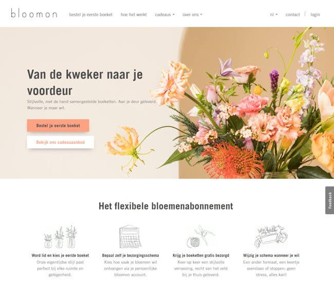bloomon-homepage-screenshot-be