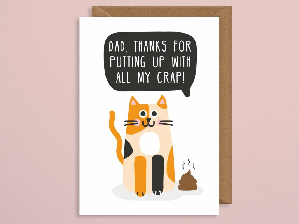 cat-dad-grappig-kaartje